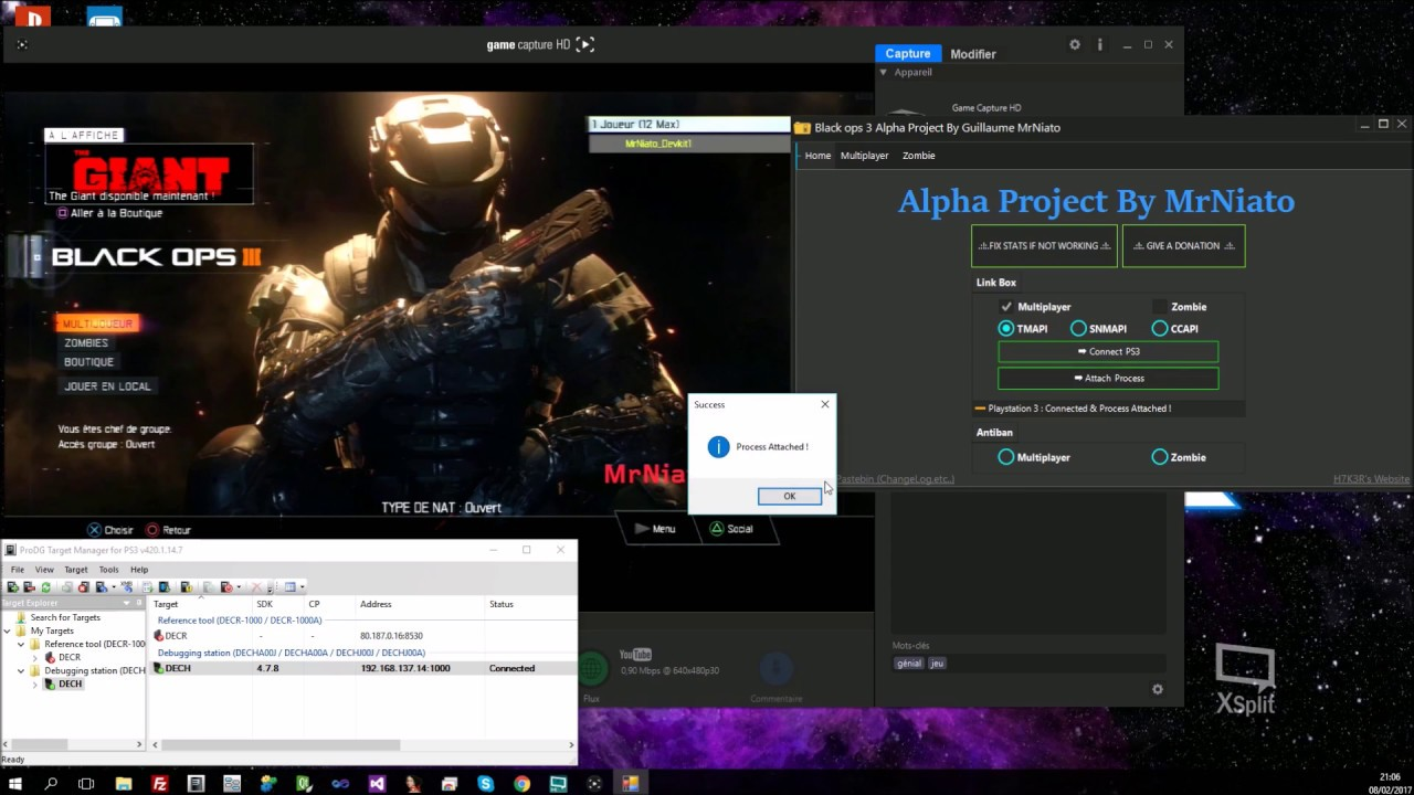 Alpha Project for Black Ops 3 (MP / ZM) on PS3 by MrNiato