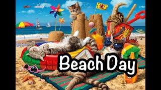 Heidi, Cherry & Vaya - Beach Day - Children's Bedtime Story/Meditation