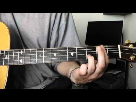 Play 'Lady Stardust' by David Bowie. Part 2. Guitar chords explained.