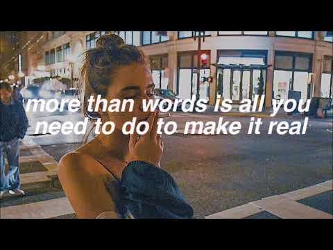 SKAM // More Than Words - Noora Sætre (Lyrics Video)