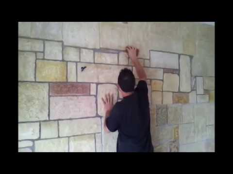 Finta pietra capolavoro youtube for Finta pietra in polistirolo