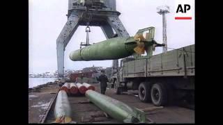 RUSSIA: MURMANSK: RUSSIAN SUBMARINE BASE