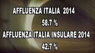affluenza in italia ed in sicilia