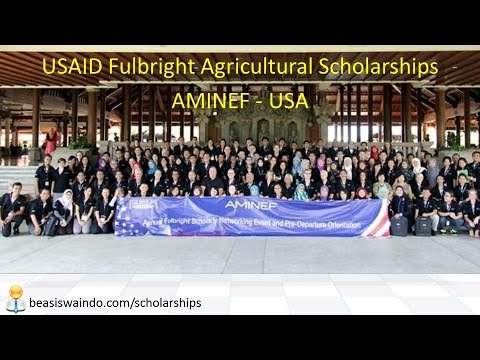 USAID Fulbright Agricultural Scholarships, AMINEF - USA #150415