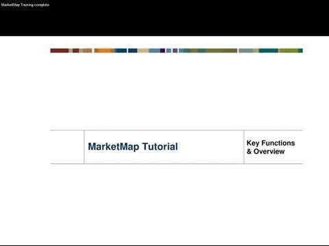 MarketMap Training complete