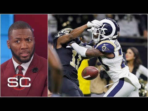Rams beat Saints after controversial missed pass interference call | SportsCenter