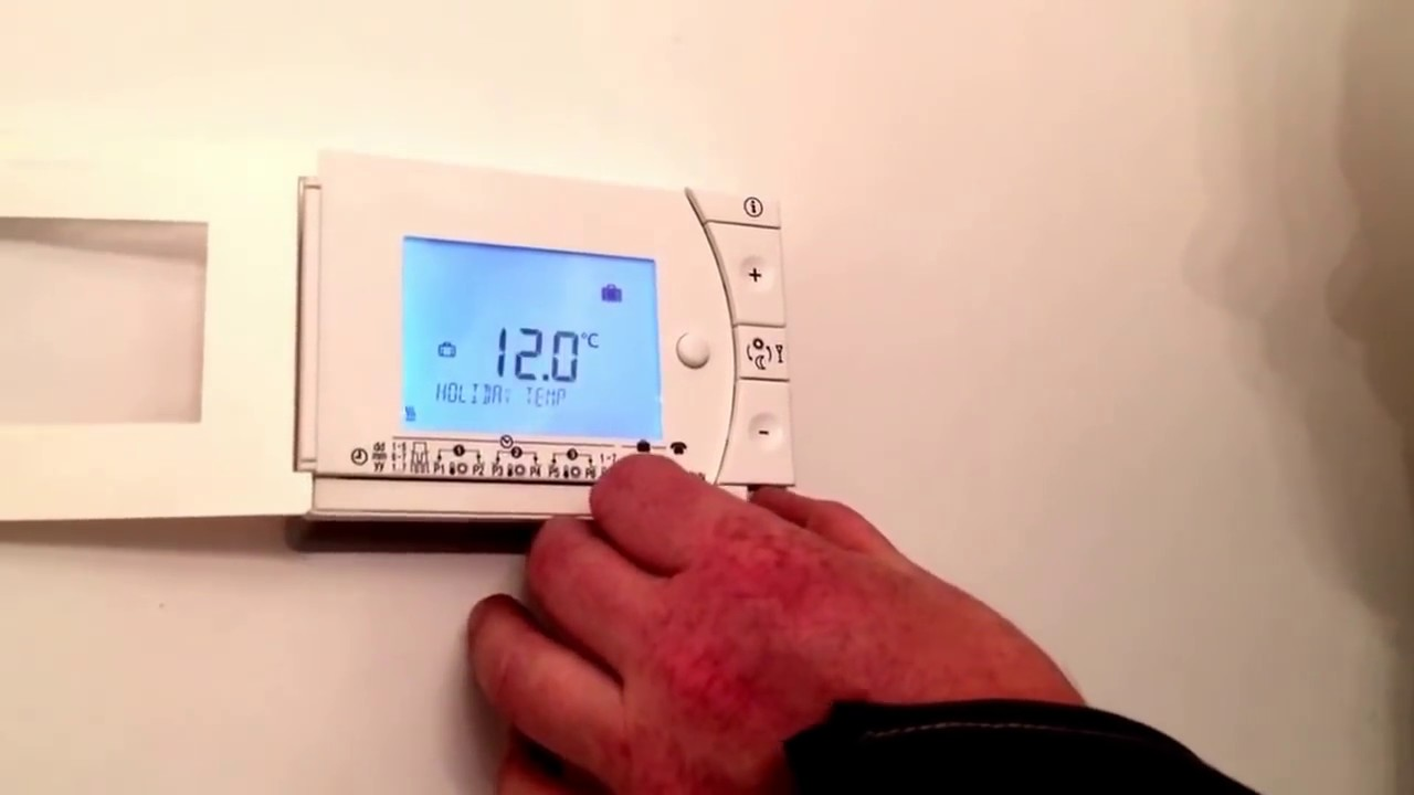 Siemens rev 24 programmable roomstat demo youtube - Cronotermostato siemens rev 24 ...