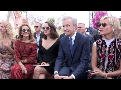 Jennifer Lawrence, Celine Dion, Anna Wintour and more front row at the Dior Couture show in Paris