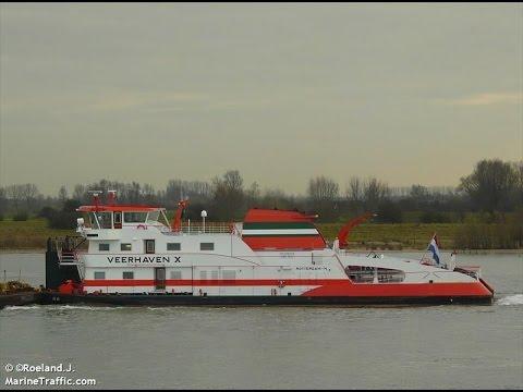 VEERHAVEN X - Ship - Barges