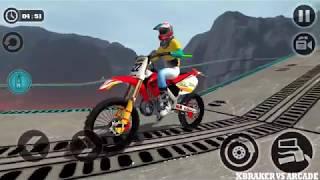 Impossible Motor Bike Tracks | Last Bike Unlocked | Amazing Stunts - Android GamePlay FHD