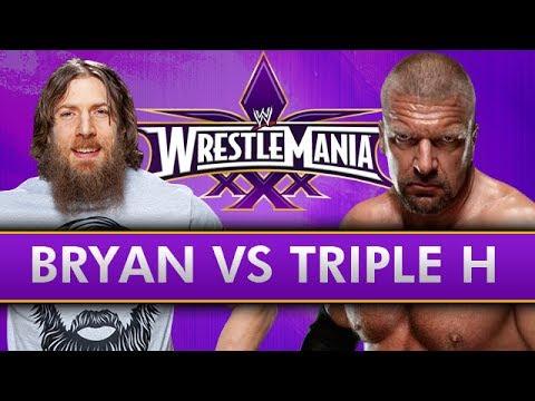 WWE WrestleMania 30 - Daniel Bryan vs Triple H (Breakdown ...Daniel Bryan Wrestlemania 30 Wallpaper