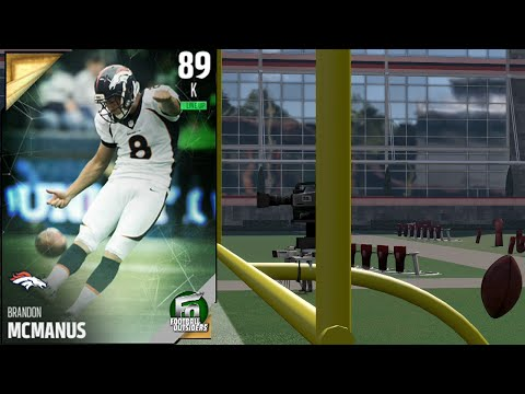 62 Yard Field Goals Possible In MUT 16? | 99 Kick Power Brandon McManus Stress Test