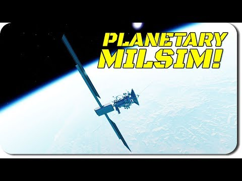 PLANET-SCALE MILITARY SIMULATION! Update on TitanIM! (First Person Showcase)