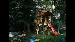 Houtwerken - Spielgeräte baut Ihr Baumhaus oder das Spielhaus Teil 02