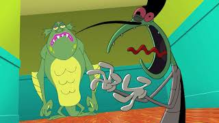 हिंदी Oggy and the Cockroaches - Scaredy Cat (S04E51) - Hindi Cartoons for Kids