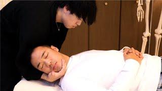 【 5分整体 】竹花貴騎 さん バキバキ整体やってみた 【 カイロプラクティック 】【 MUP 】