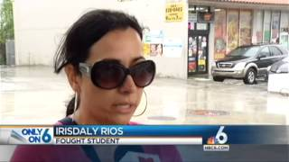 35-Yr Old Florida Mom Irisdaly Rios Beats Up 12-Yr Old Girl She Says Bullied Her Kid. Gets Arrested