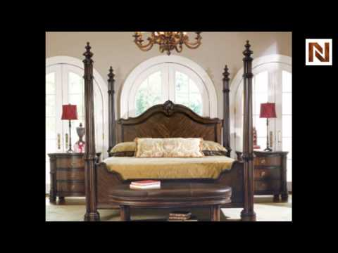 Bernhardt James Island California King Poster Bed 314