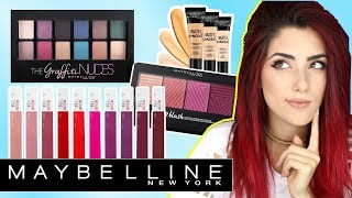 Neues MAYBELLINE SORTIMENT 2017 l First Impressions I Live Test + Verlosung