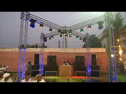 4 Cross Truss Dj Light Sound setup with 6 top 3 bass speakers 09891478183