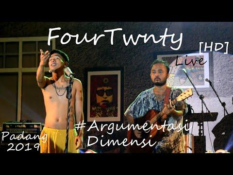FourTwnty [HD] Di Padang - Argumentasi Dimensi Live At AUTHENTICITY2019.