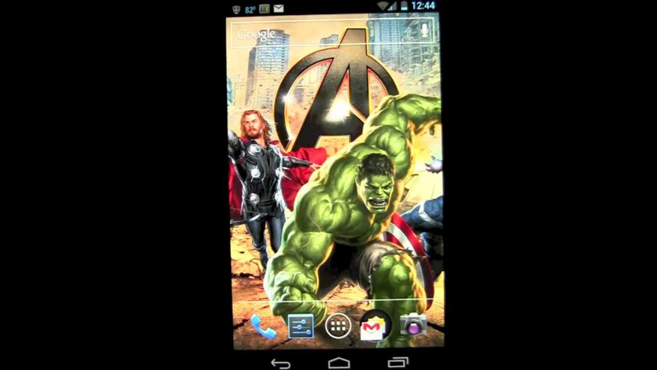 The Avengers Live Wallpaper Android App Review Free App