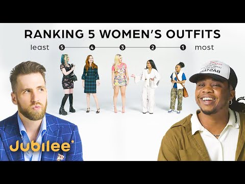 Ranking Women By Fashion | Guys vs Girls