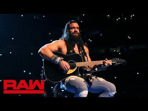 Elias\' Philadelphia performance begins: Raw Exclusive, March 4, 2019