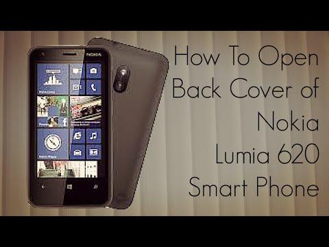How To Open Back Cover of Nokia Lumia 620 Smart Phone - PhoneRadar