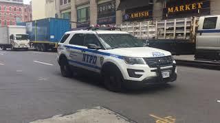 NYPD 1st Precinct Units Responding