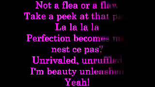 Perfect Isn't Easy Lyrics