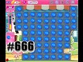 Candy Crush Saga SATAN Level 666 | Collect 666 Blue Candy with 66 Moves, Complete!!