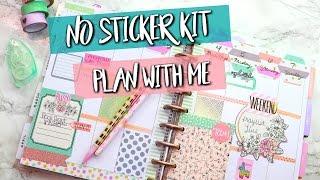 *NO STICKER KIT* PLAN WITH ME! | Belinda Selene