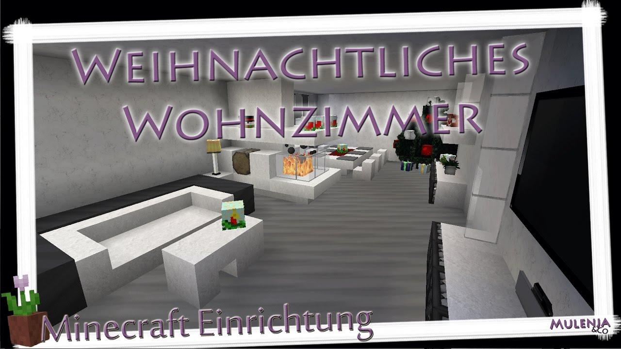 Minecraft weihnachtliches wohnzimmer einrichten in minecraft youtube - Minecraft wohnzimmer ...