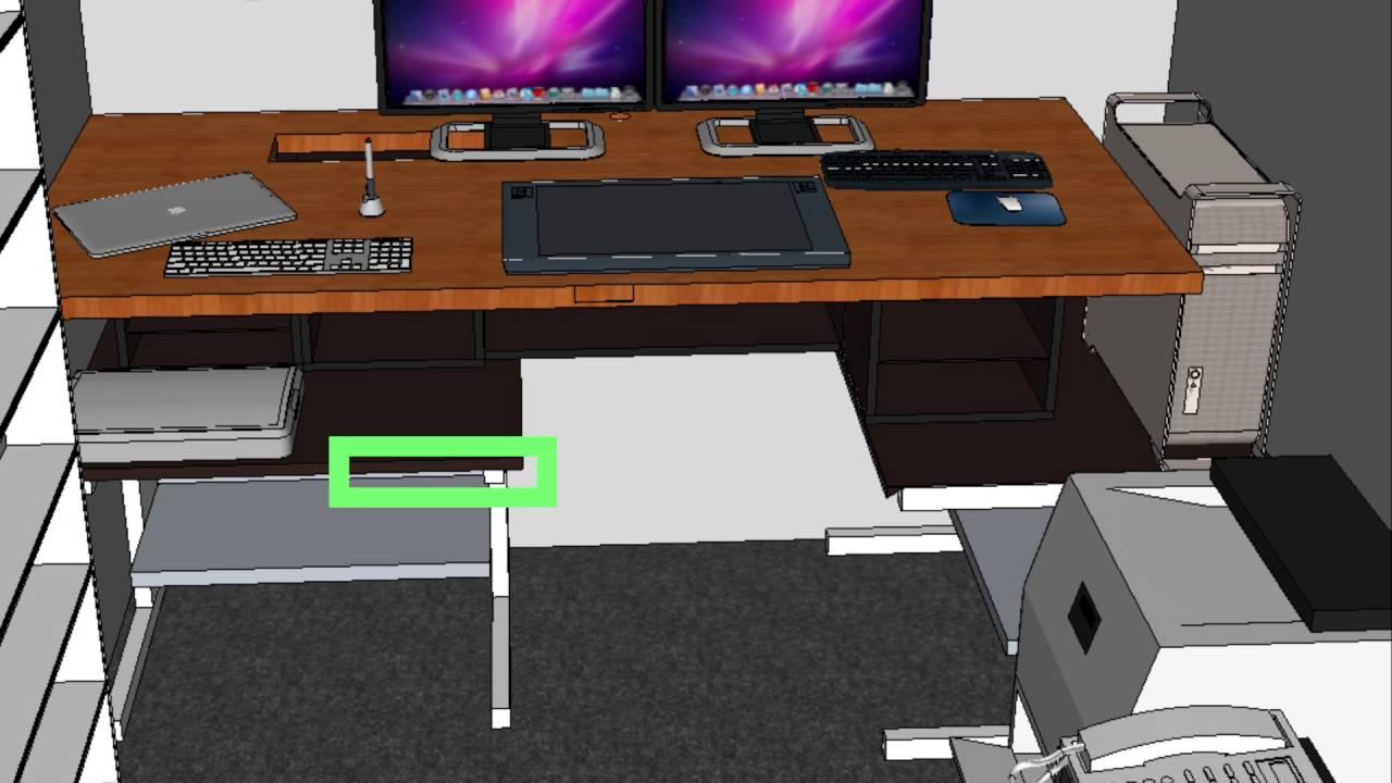 DIY Standing Desk For My Cintiq Build