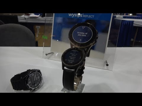 Wysips Solar Transparent Smartwatch Display by Sunpartner Technologies