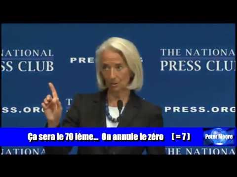 Christine Lagarde nous parle du chiffre 7