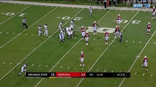 Joshua Kalu Interception vs. Arkansas State