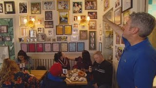 An Inside Look At A Cafe Paying Tribute To