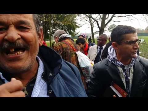 Egyptian Muslim Attacked Ex-Muslim Preacher - Speakers Corner Hyde Park London 30-10-16.