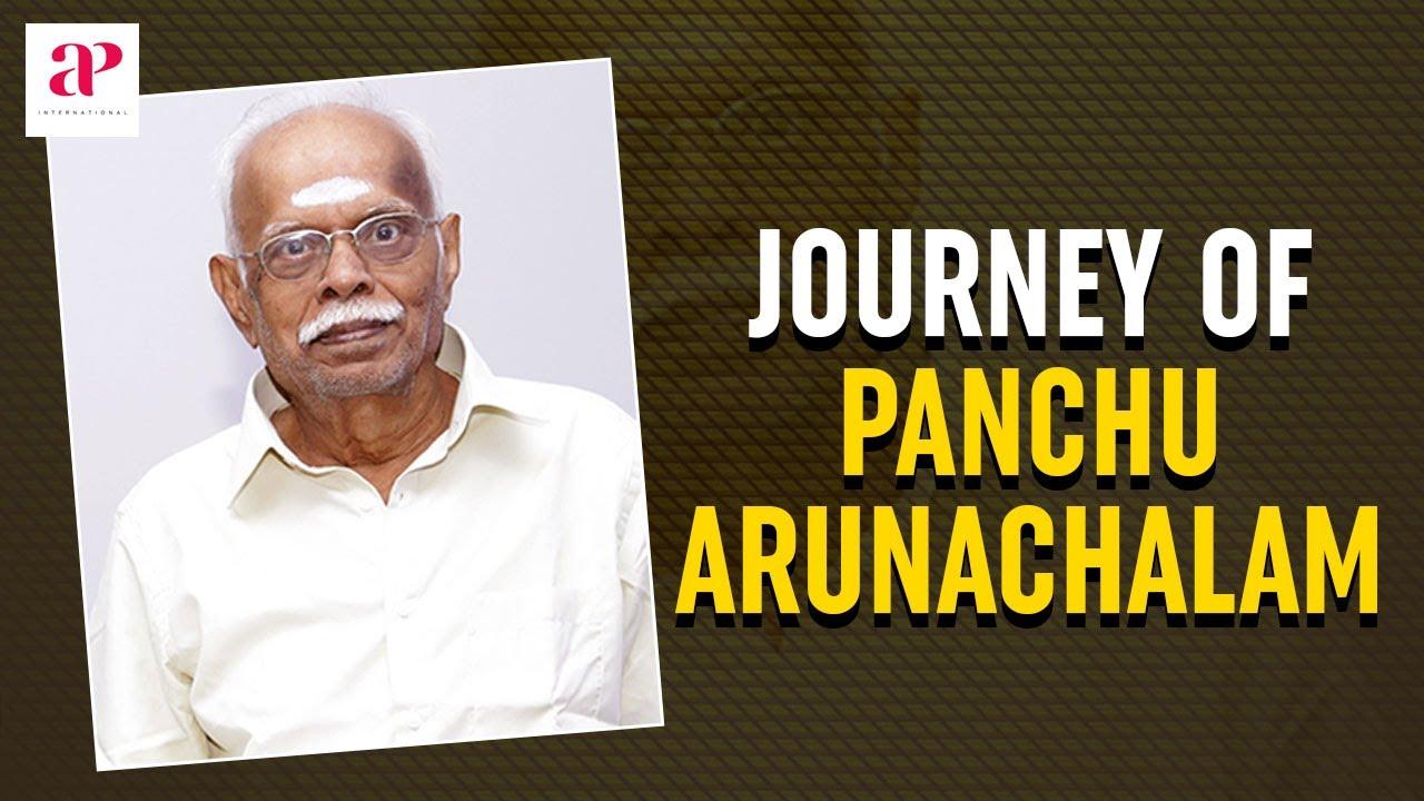 Journey of Panchu Arunachalam | Star Maker Panchu Arunachalam | Rajinikanth | Sundar C | Raadhika