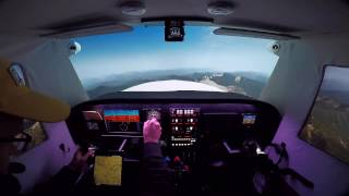 P2P: Kalispell To Great Falls (Home Cockpit Flight Simulator)