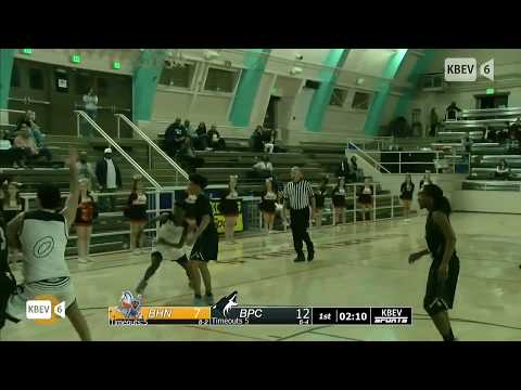 BHHS Vs. Buena Park PLAYOFF Basketball Game (Part 1)