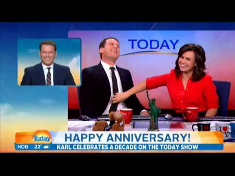 Karl Stefanovic's finest moments in ten years on the show