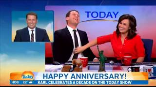 Video Karl Stefanovic's finest moments in ten years on the show download MP3, 3GP, MP4, WEBM, AVI, FLV November 2017