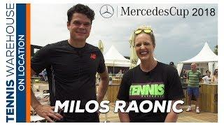 Tennis Warehouse: Milos Raonic at ATP Mercedes Cup Stuttgart, Germany