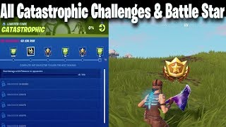 Fortnite Week 5 Catastrophic Challenges & Week 5 Secret Battle Star Location | Kevin the Cube Return