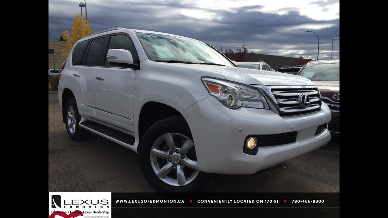 2015 Lexus Gs >> Pre Owned White 2012 Lexus GX 460 4WD In Depth Review | Grande Prairie Alberta - YouTube