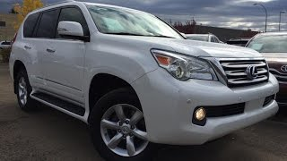 Pre Owned White 2012 Lexus GX 460 4WD In Depth Review | Grande Prairie Alberta