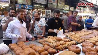 أجواء رمضان في حي الميدان الدمشقي Youtube